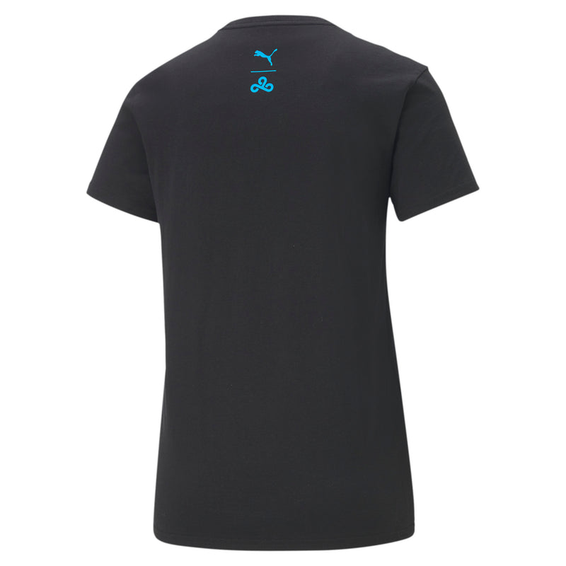 Puma x Cloud9 Disconnect T-Shirt. Womens. Black.