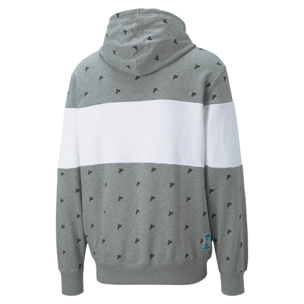 PUMA x Cloud9 Zoned In Hoodie. Grey.