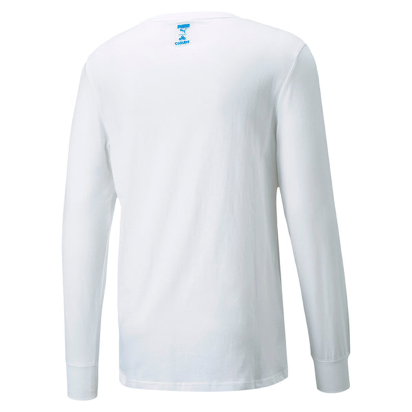 PUMA x Cloud9 Carryon Longsleeve Tee. White.