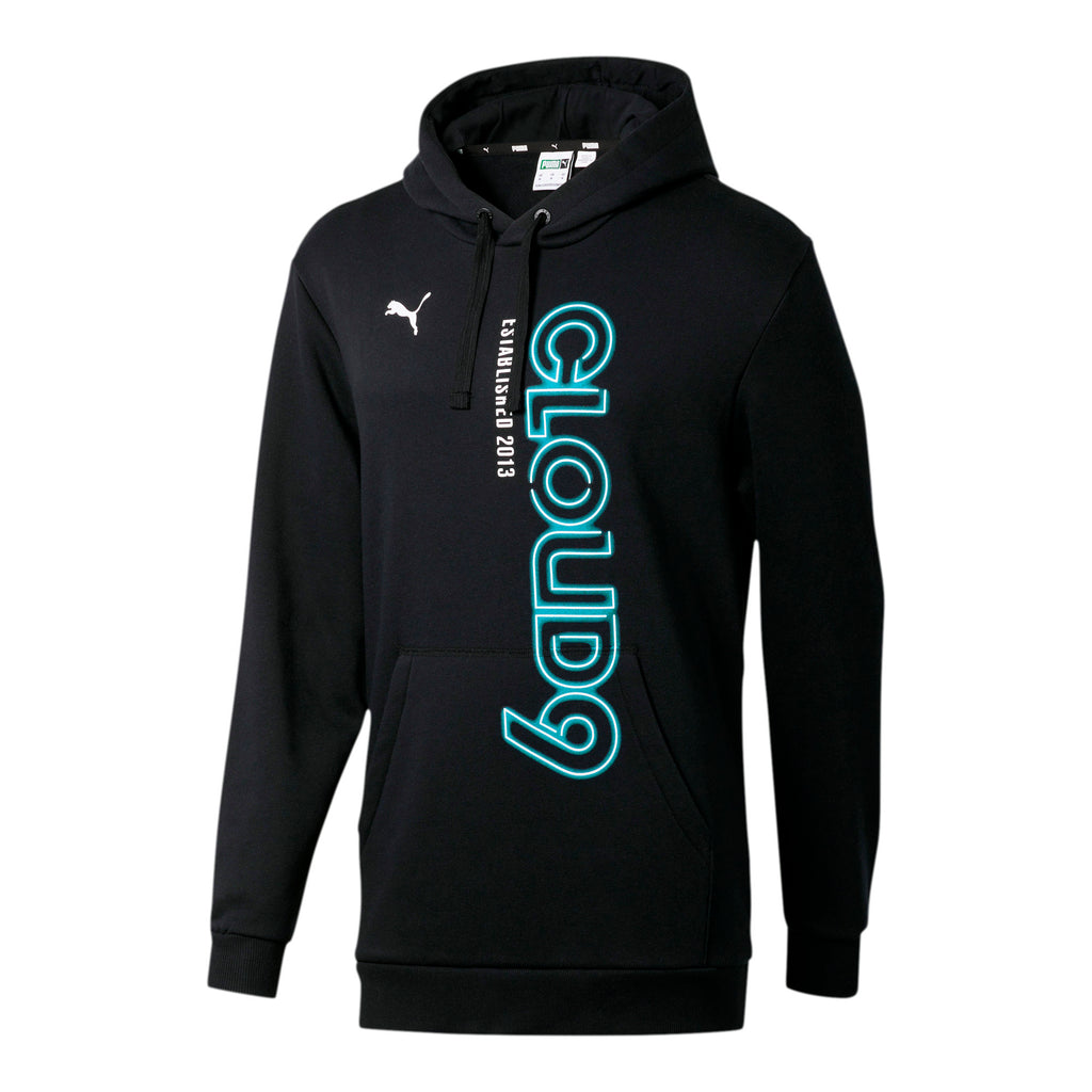 Puma x Cloud9 Simulation Hood. Black/Blue. Blue.