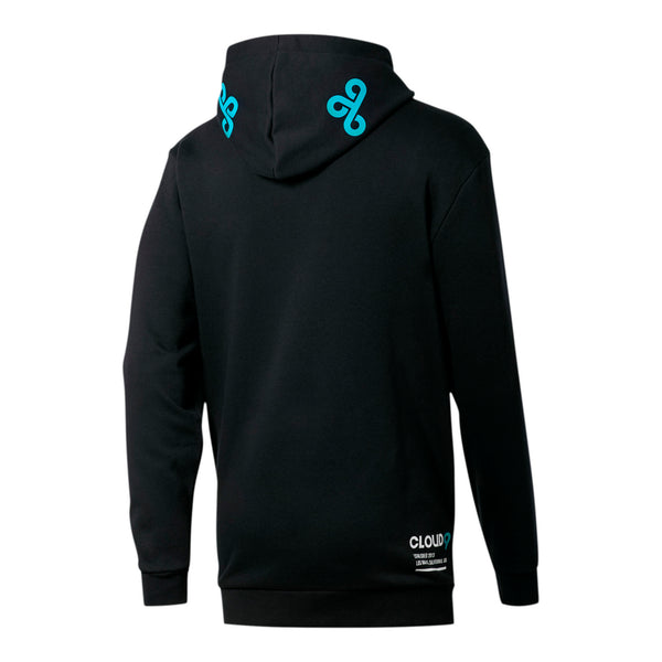 Puma x Cloud9 Simulation Hood. Black. Blue.