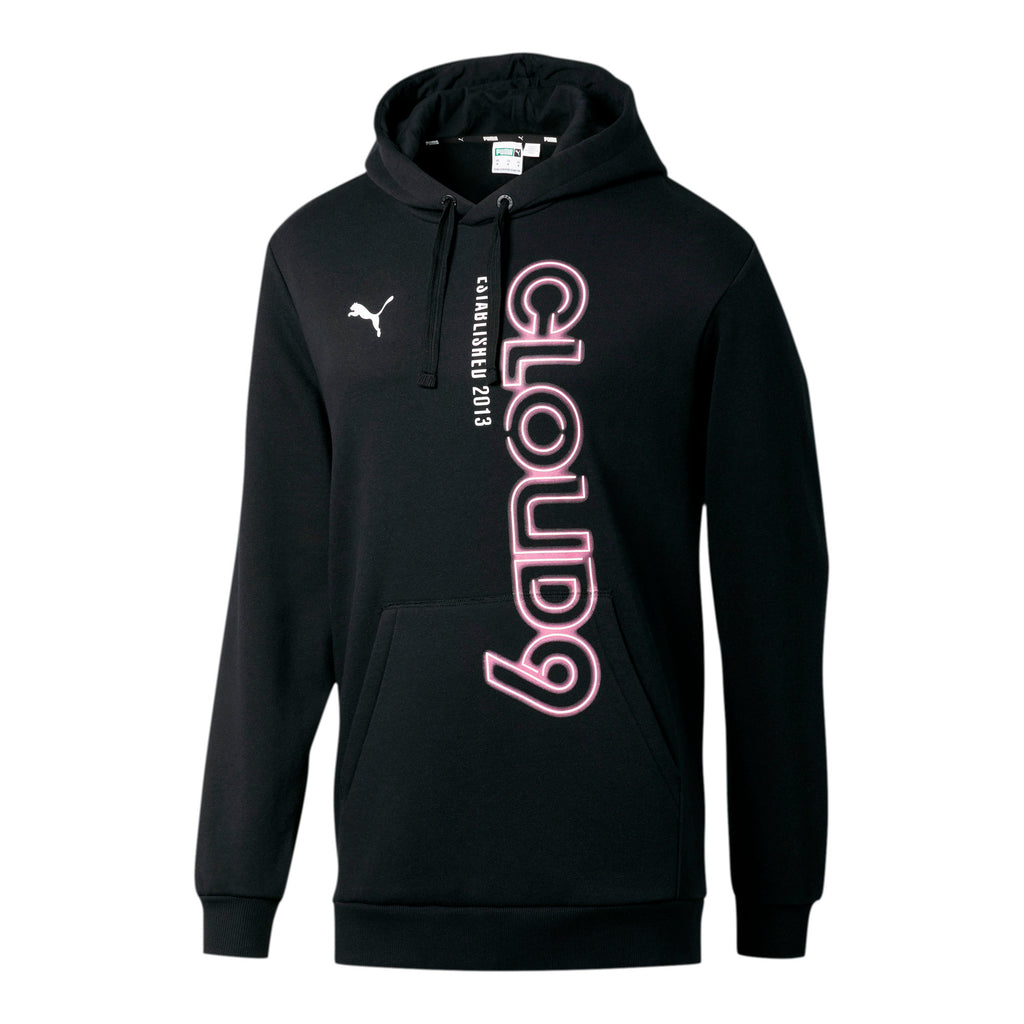 Puma x Cloud9 Simulation Hood. Black. Pink.