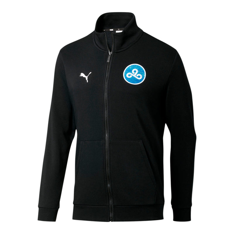 Puma x Cloud9 High Score Track Jacket. Black.  Blue.