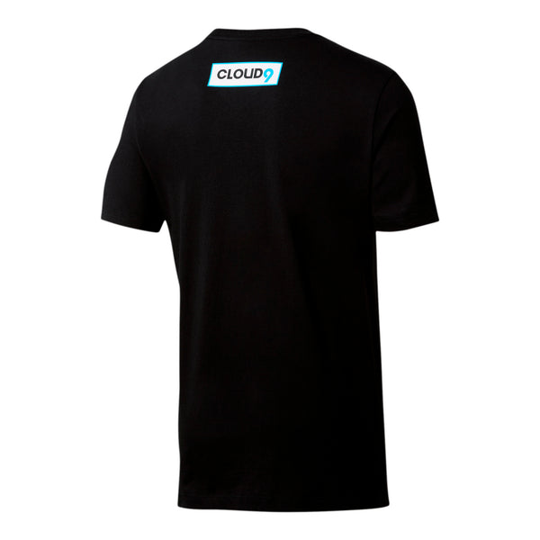 Puma x Cloud9 Alias Tee. Black.