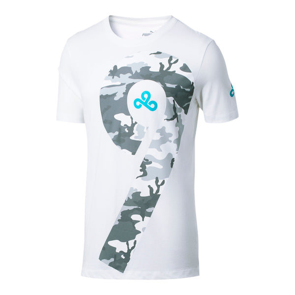 Puma x Cloud9 Alias Tee. White.