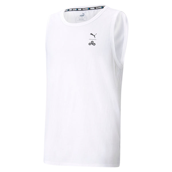Puma x Cloud9 Elite Tank. White.