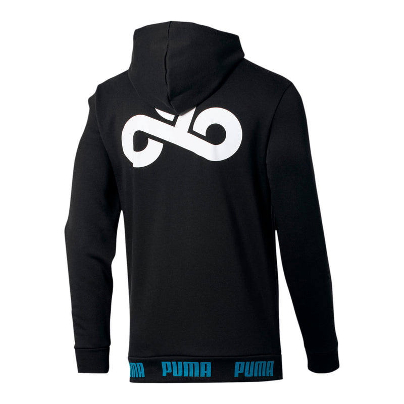 Puma x Cloud9 2020 Gameday Hoodie. Black.