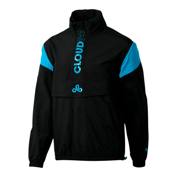 Puma x Cloud9 Strategy Wind Breaker Jacket. Black.
