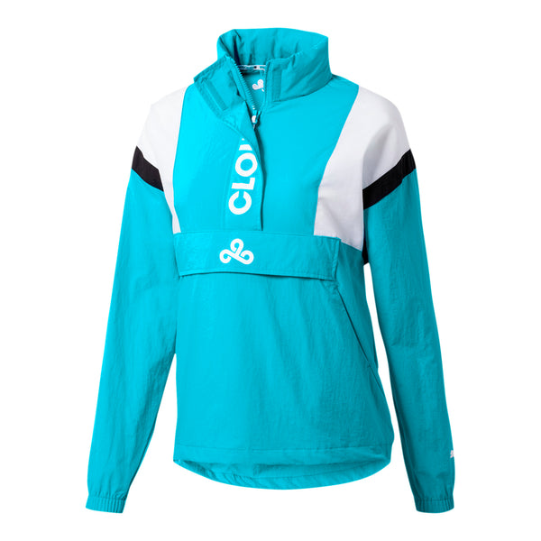 Puma x Cloud9 Strategy Wind Jacket. Womens. Blue.
