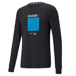 Puma x Cloud9 Longsleeve Tee. Black.