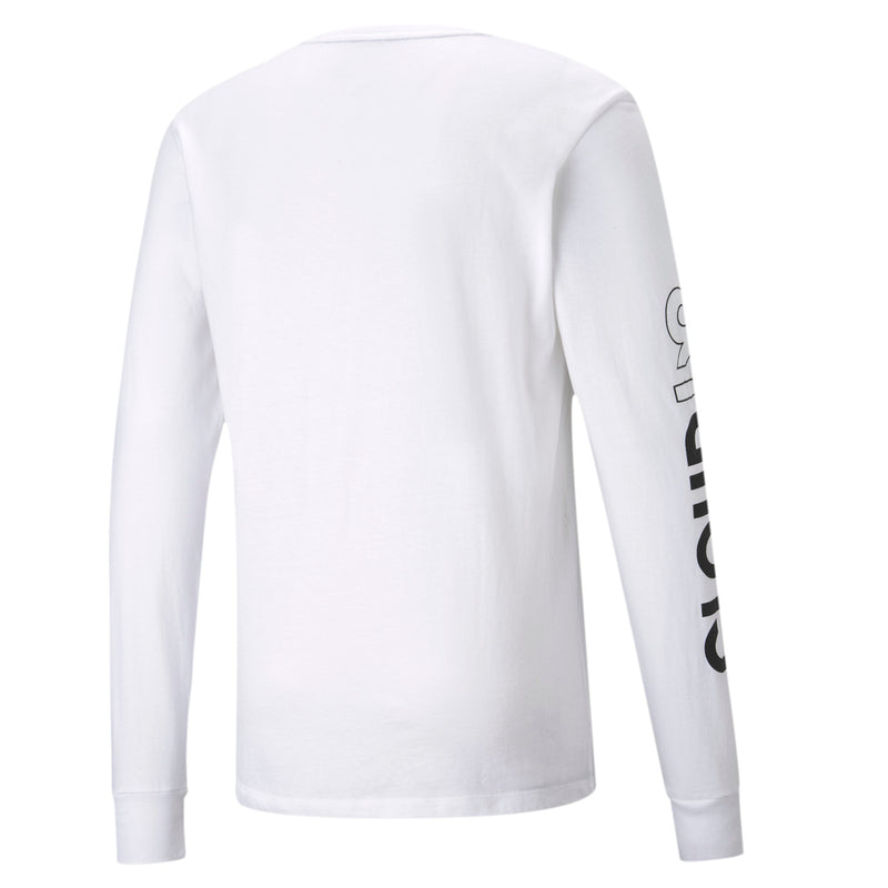 Puma x Cloud9 Level Up Long Sleeve Tee. Womens. White.