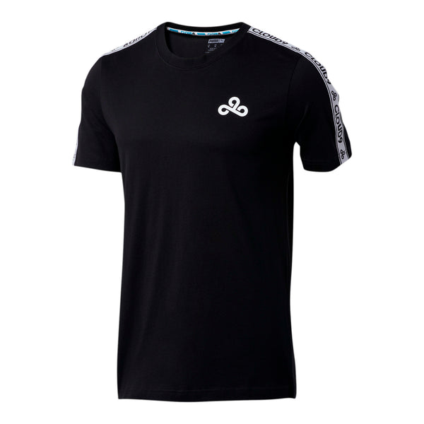 Puma x Cloud9 Tape Tee. Black.