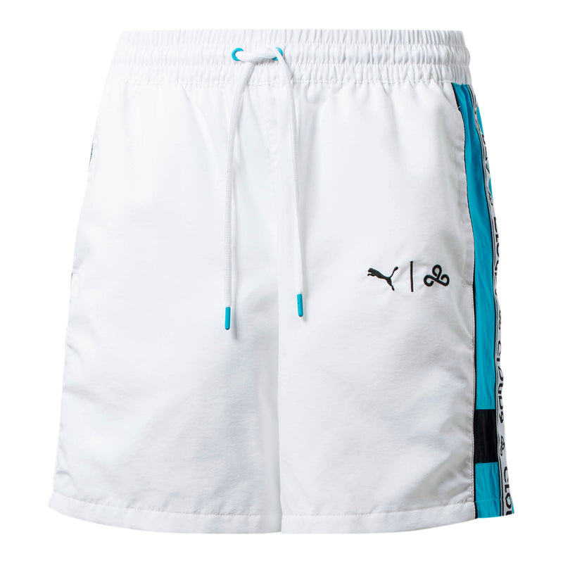 Puma x Cloud9 Momentum Short. White.