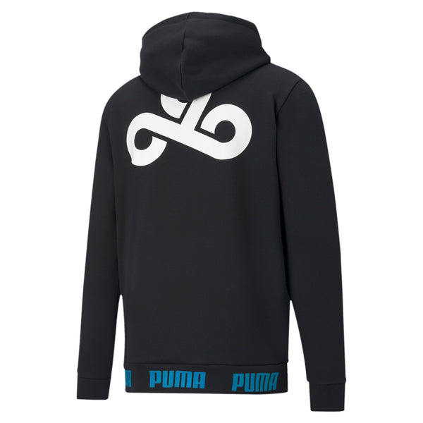 PUMA x Cloud9 Gameday Hoodie. Black.