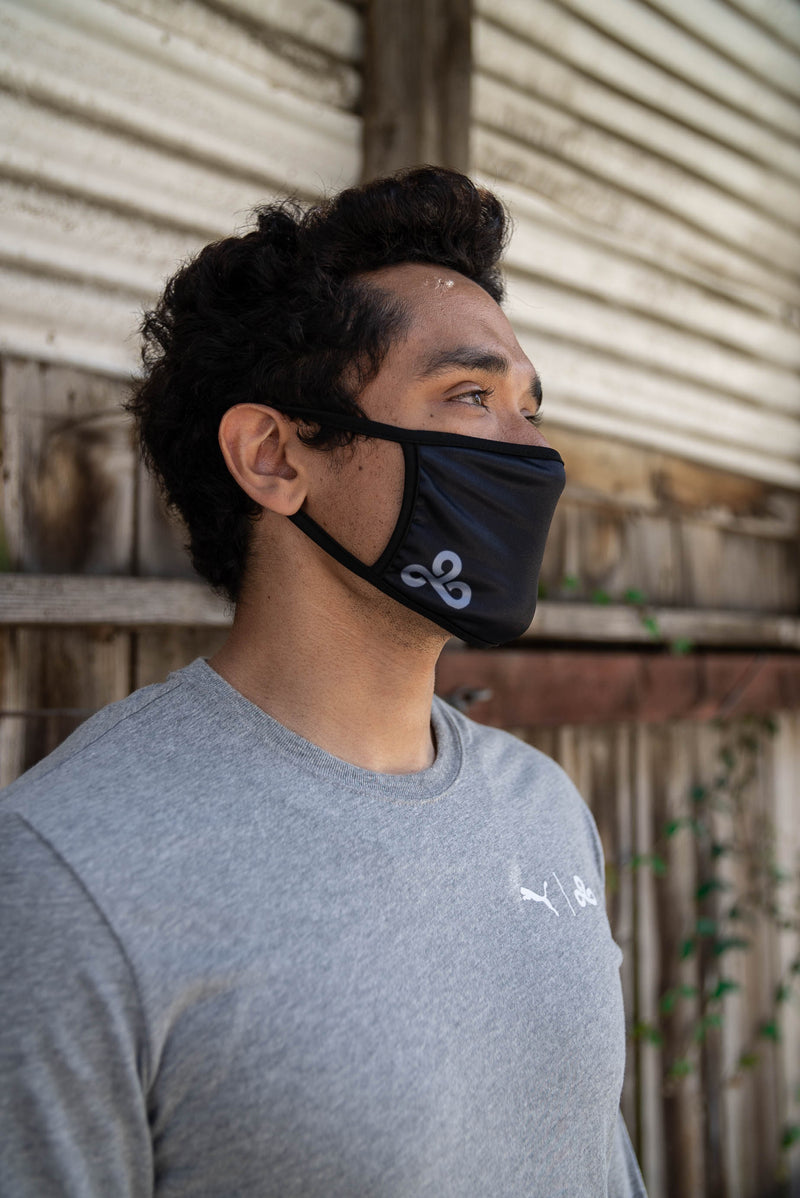 Cloud9 Facemask. Black.  All profits go to COVID relief