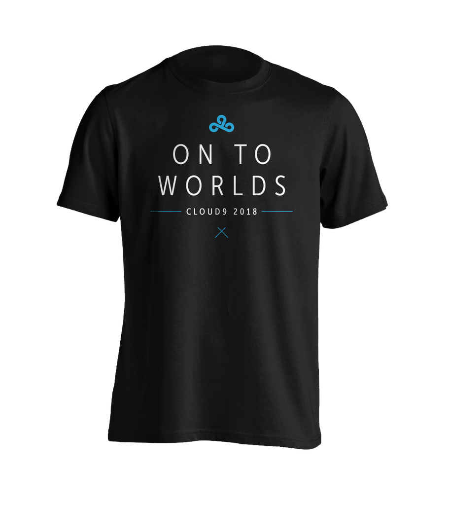 On To Worlds 2018 T-Shirt *Limited Edition*