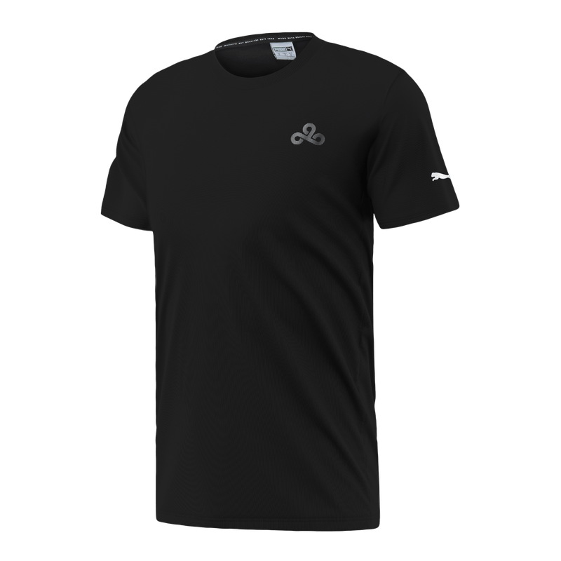Puma x Cloud9 Reflector T-Shirt. Black.