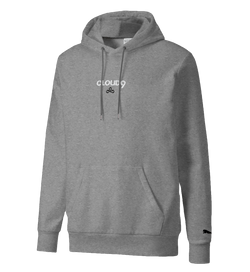 Puma x Cloud9 Stacked Embroidered Hood. Grey.