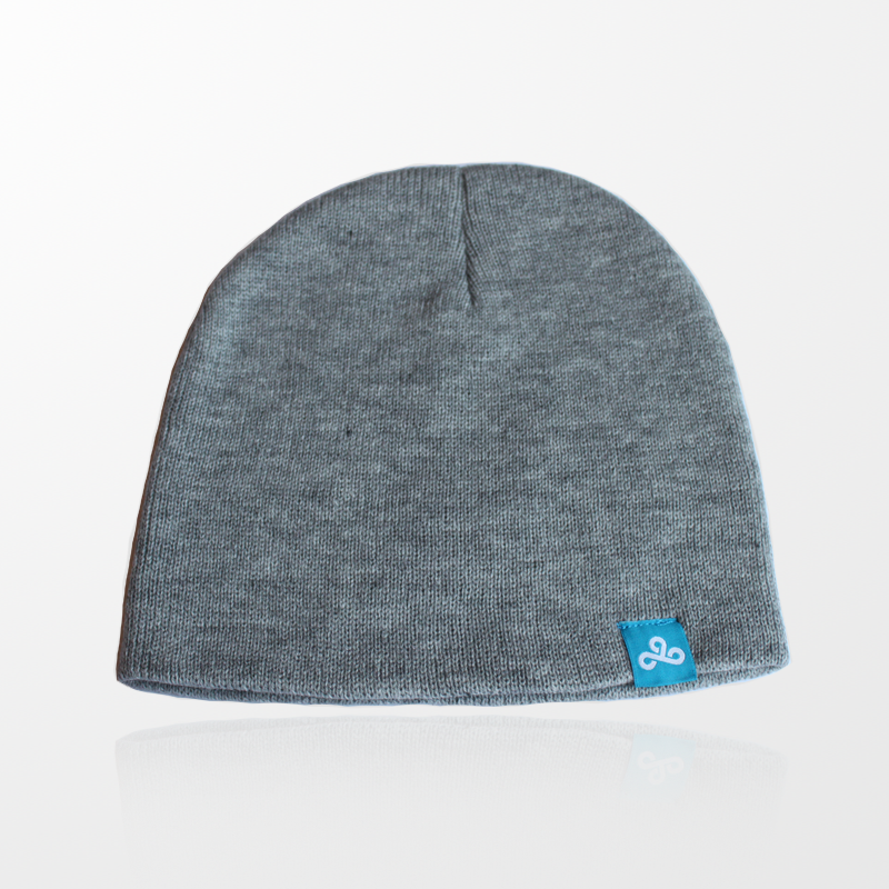 Gray Cloud9 Beanie