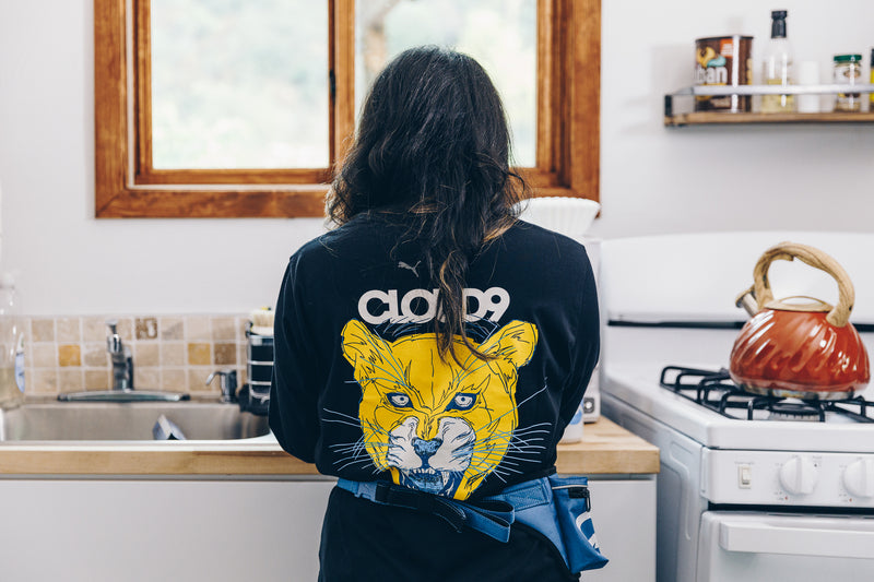 Puma x Cloud9 Roar Tee. Womens. Black.