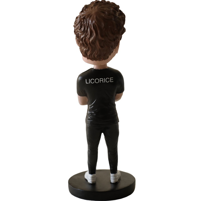 Licorice Bobblehead Statue
