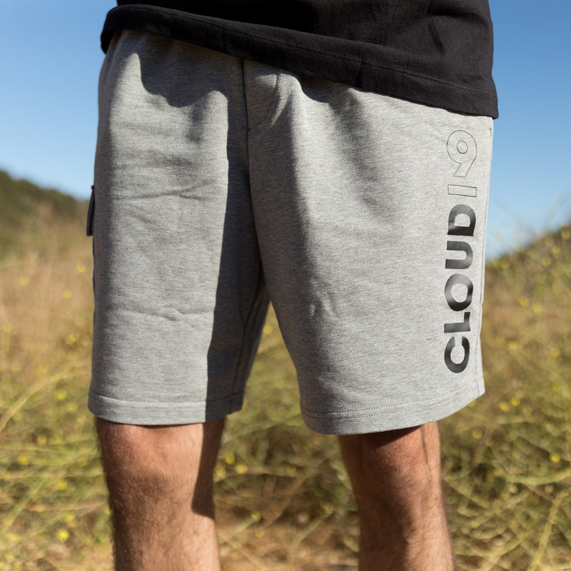 Puma x Cloud9 Elite Cargo Sweat Short. Grey.