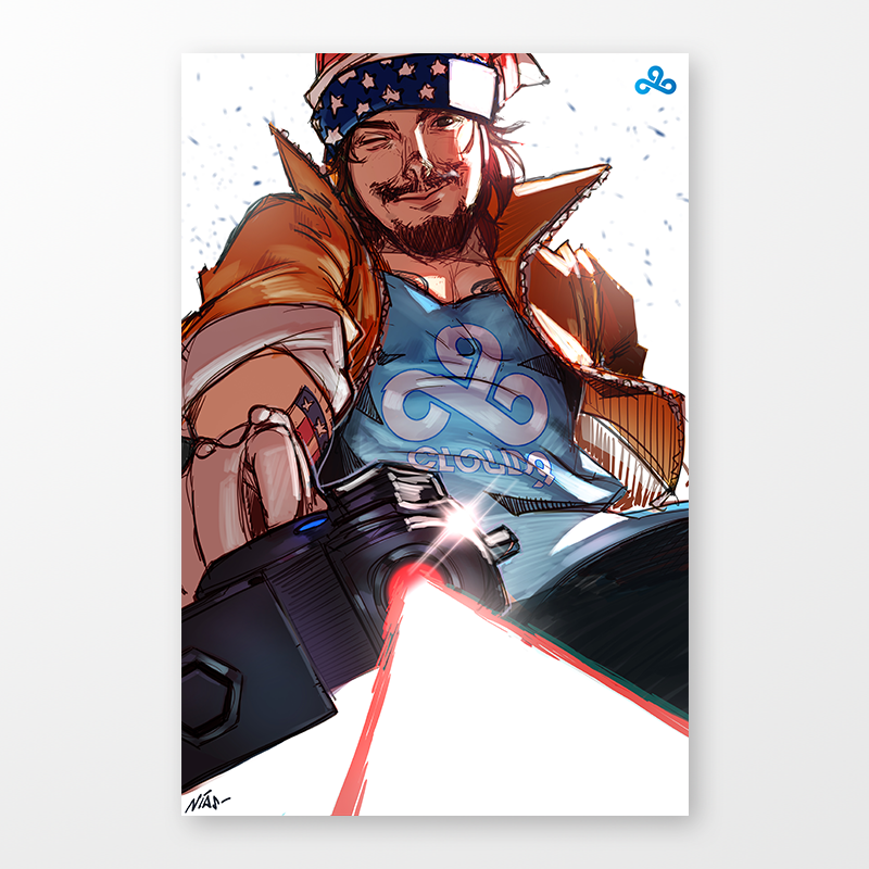 Cloud9 MaNg0 Poster