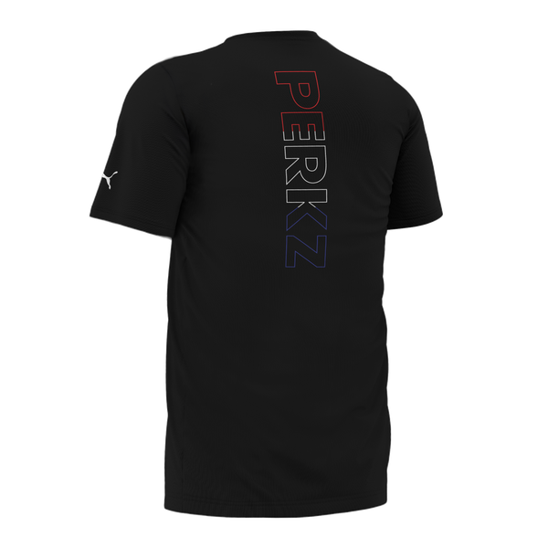 PUMA x Cloud9 x PERKZ T-Shirt. Black.