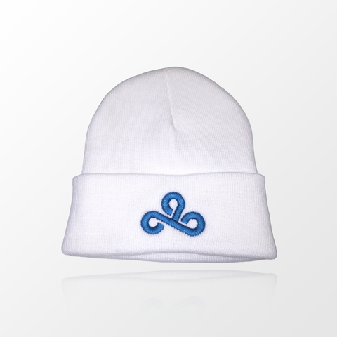 White Cloud9 Beanie