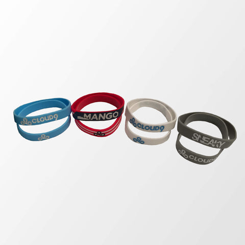 Cloud9 Wristband Set (All 4 colors included)