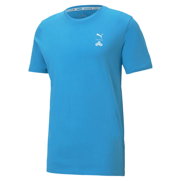 Puma x Cloud9 Corrupted T-Shirt. Blue.