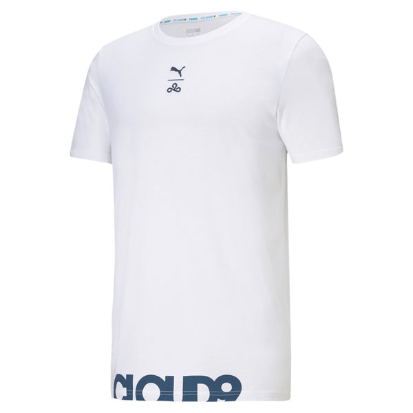 Puma x Cloud9 For The Win T-Shirt. White.