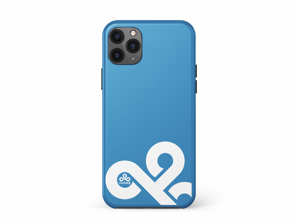 Cloud9 iPhone 11 & 12 Cases. Blue