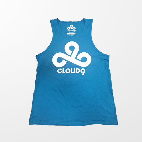 Blue Cloud9 Tank Top