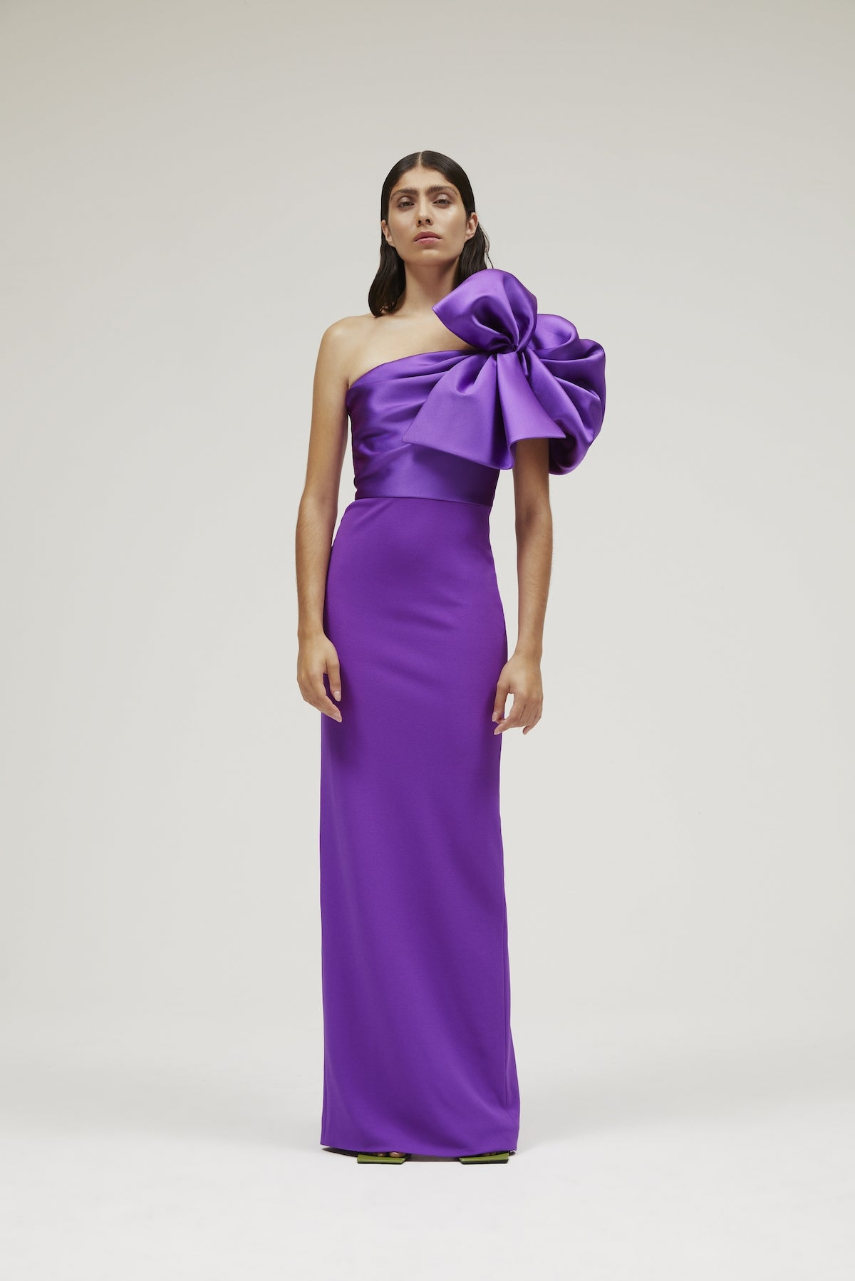The Iyana Dress in Ultra Purple