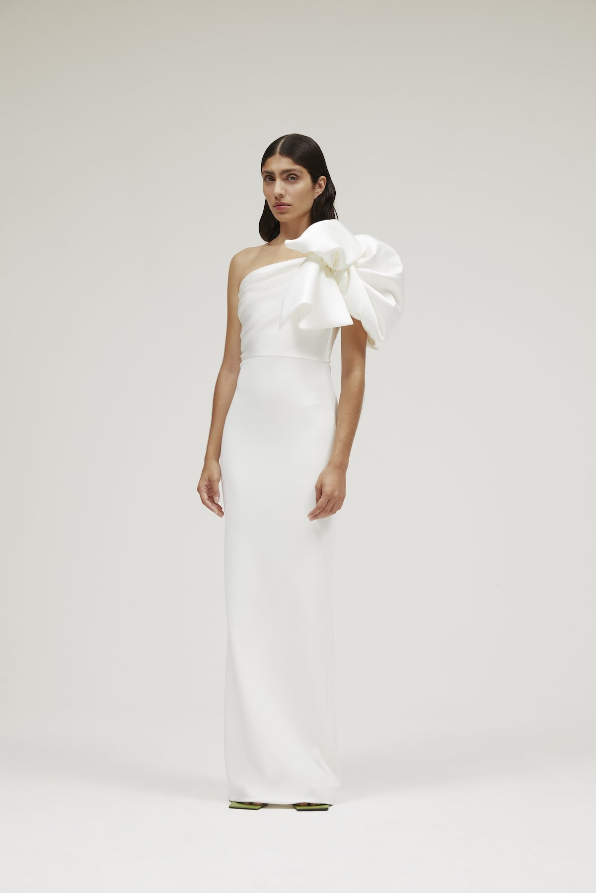 The Iyana Dress in Winter White