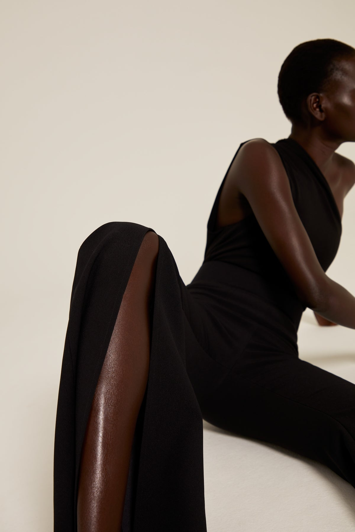 The Cleo Jumpsuit in Black