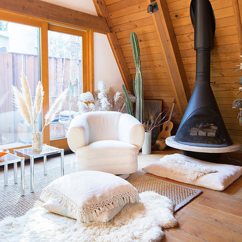 Hygge home living space
