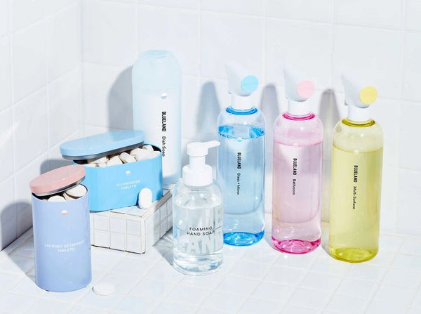 Blueland cleaning supplies
