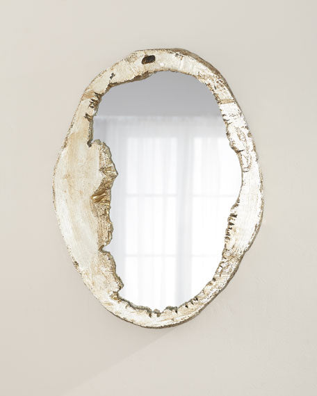 Organic shaped mirror