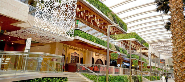 GSKY Green Wall at The Avenues Mall in Kuwait