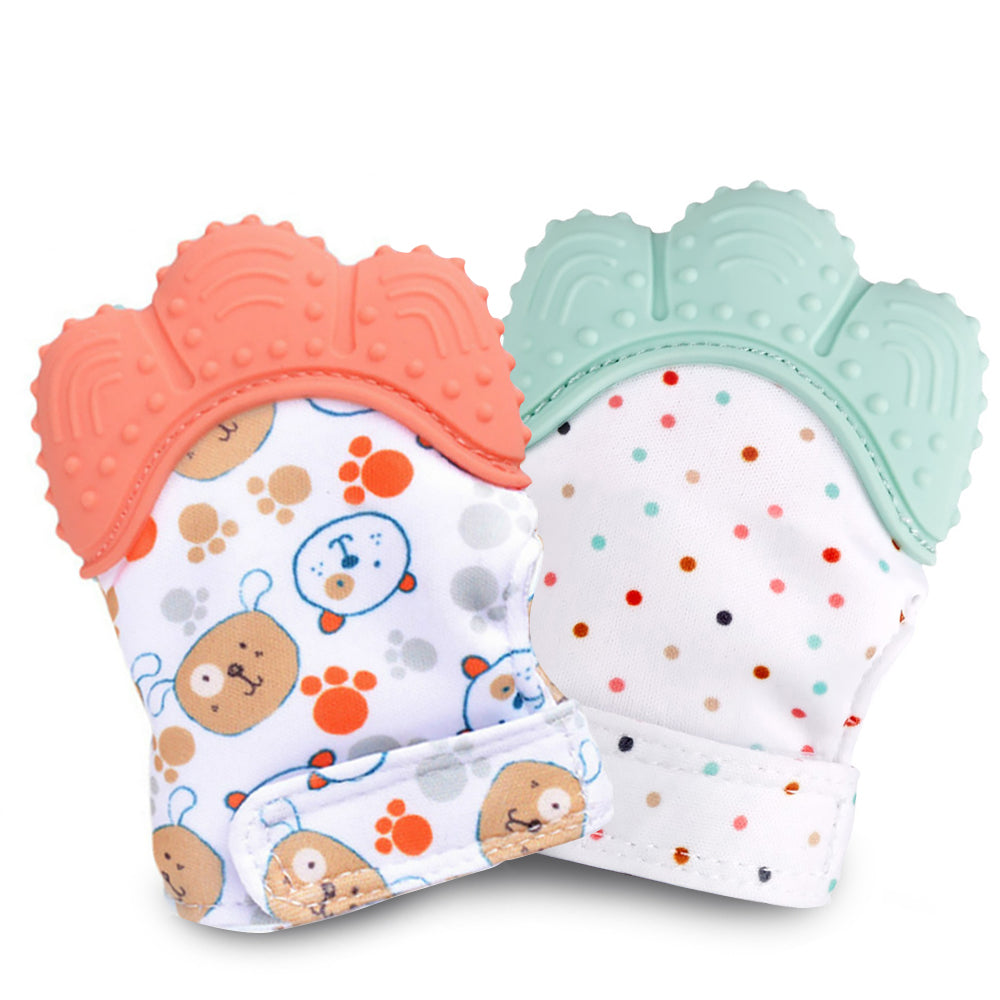 Baby Teething Mitten Glove Teether