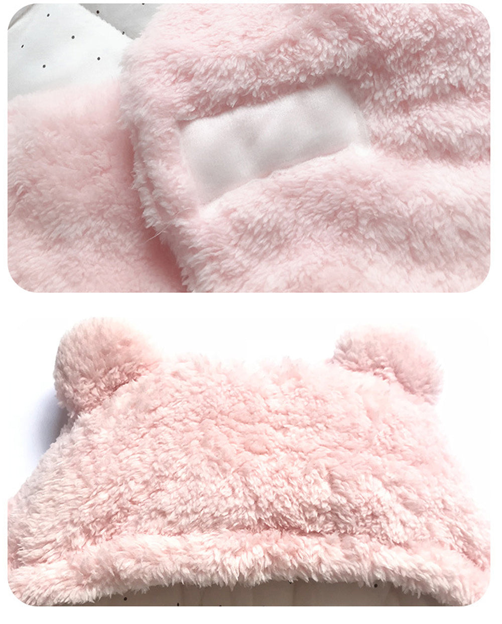 BnBies Ultra Soft Fluffy Baby Swaddle Wrap