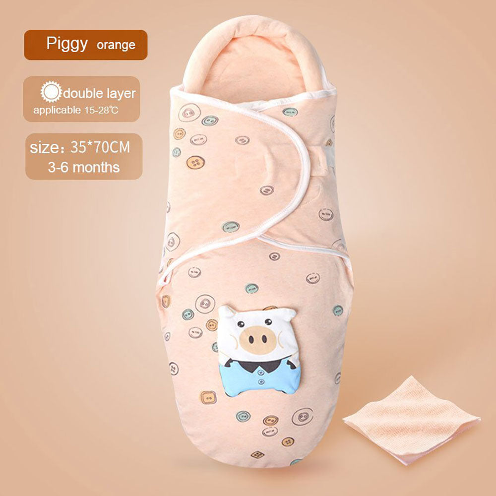 BnBies Pure Cotton Baby Swaddle