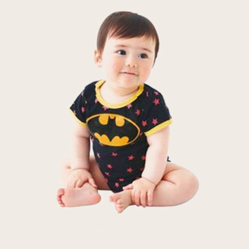 Super Hero Summer Baby Rompers Short sleeve