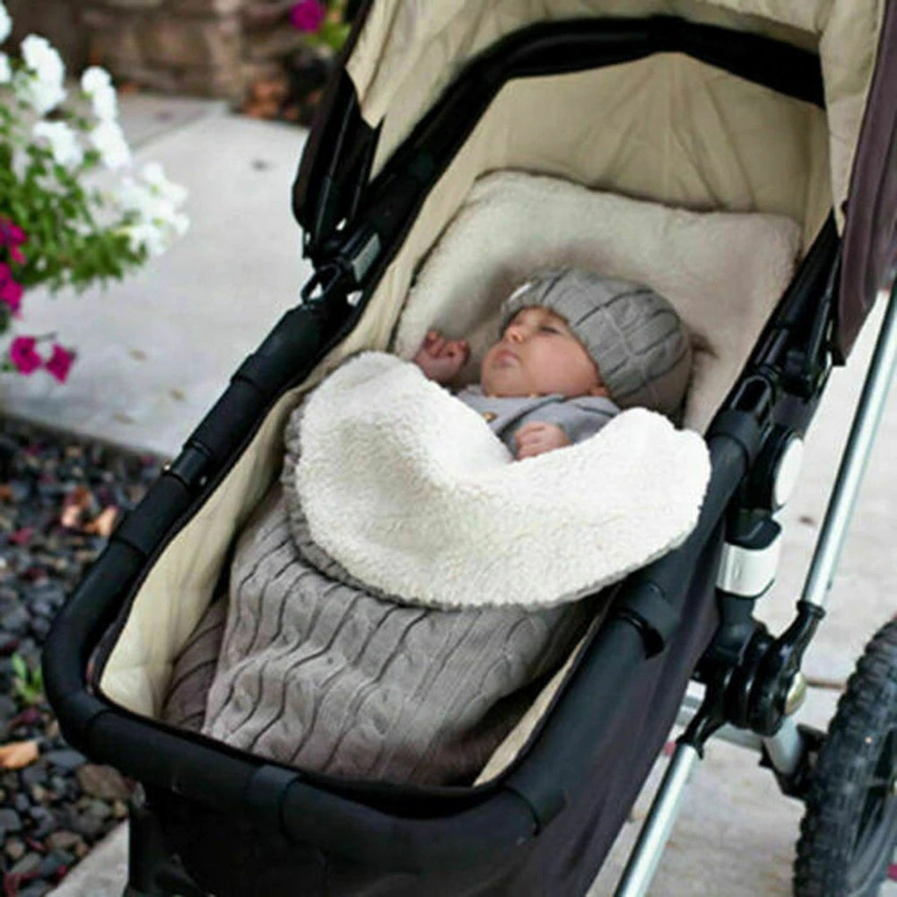 High-Quality Thick Cotton Envelope Baby Sleeping Bag