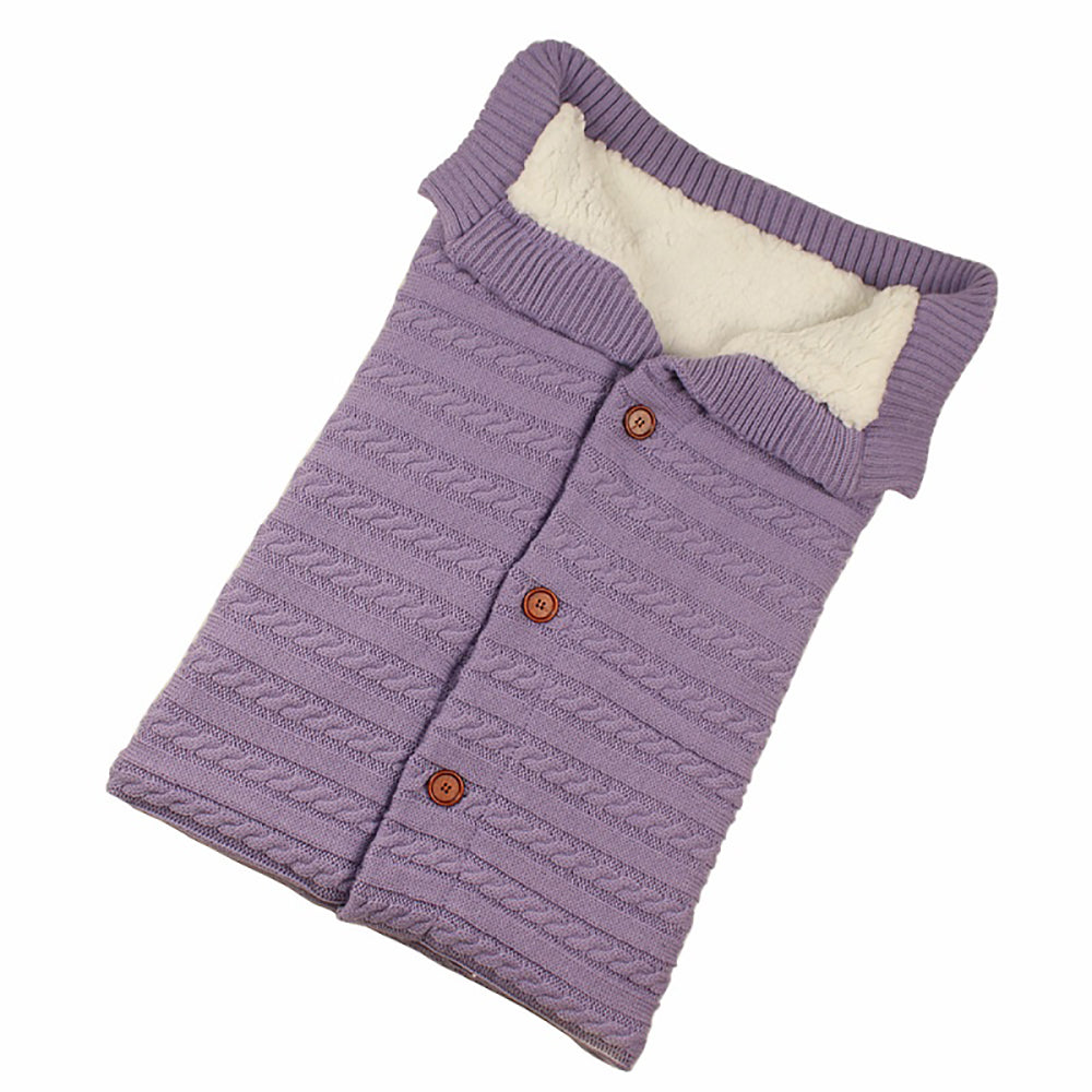 Envelope Knitted Baby Sleeping Bag
