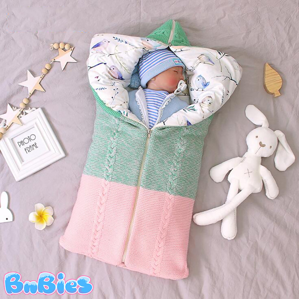 Thick Knitted Envelop Sleeping Bag