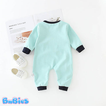 Cute 3D Cartoon Elephant Romper