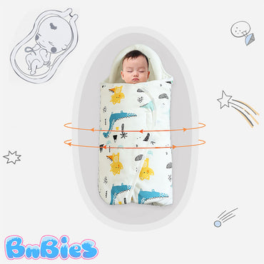 Stylish Pure Cotton Newborn Swaddle